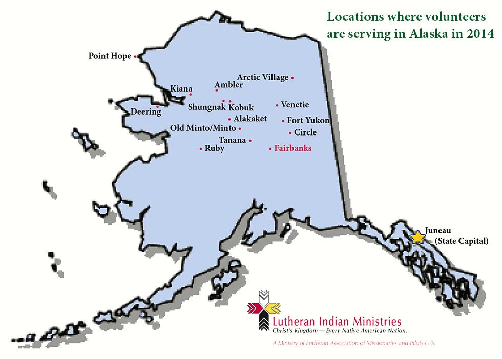 AK VOLUNTEER LOCATIONS MAP 2014 small w LIM logo