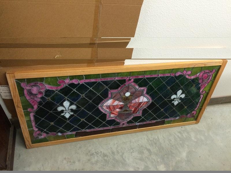 Tanana Alaska Stained-Glass Window