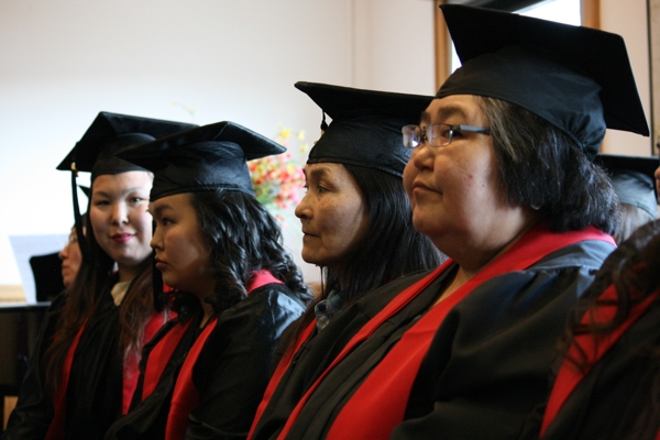 University of Alaska-Fairbanks, Bethel Campus, Grduating Class. Photo credit:  Alaska Dispatch News