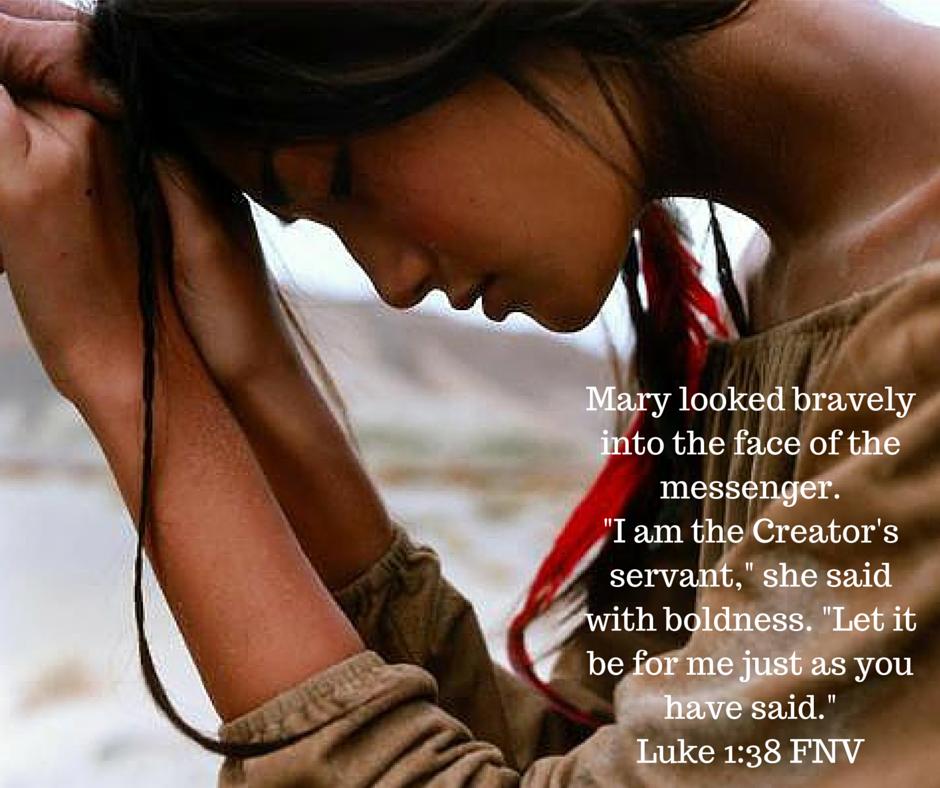Luke 1:38 FNV