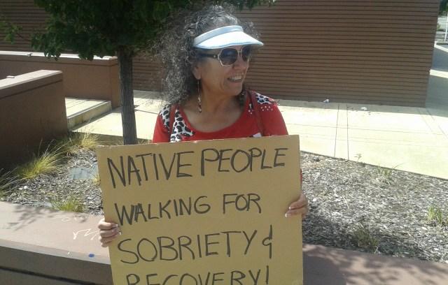 Sobriety Walk in Richmond, CA