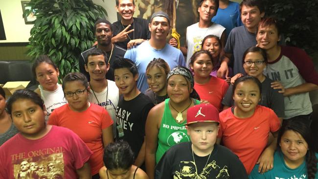 Native American youth run 2,000 miles