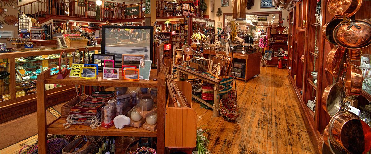 The Inside of Prairie Edge Trading Co. Photo Credit:  Prairie Edge