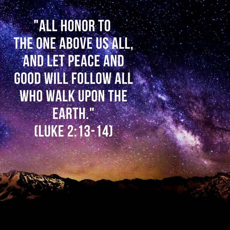 Luke 2:13-14 FNV