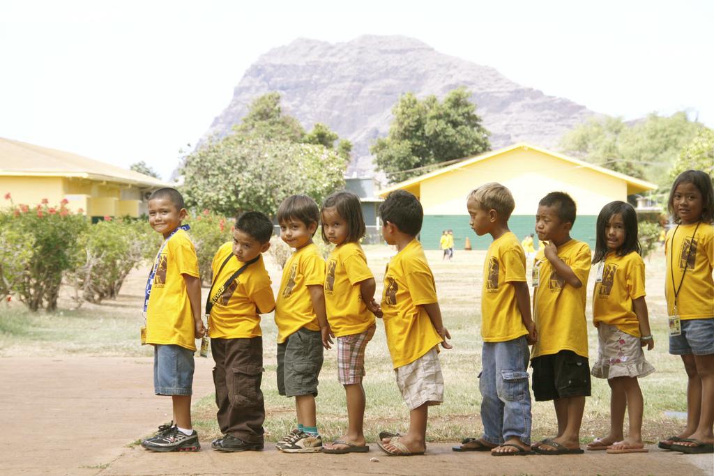 Hawaiian Charter School Students