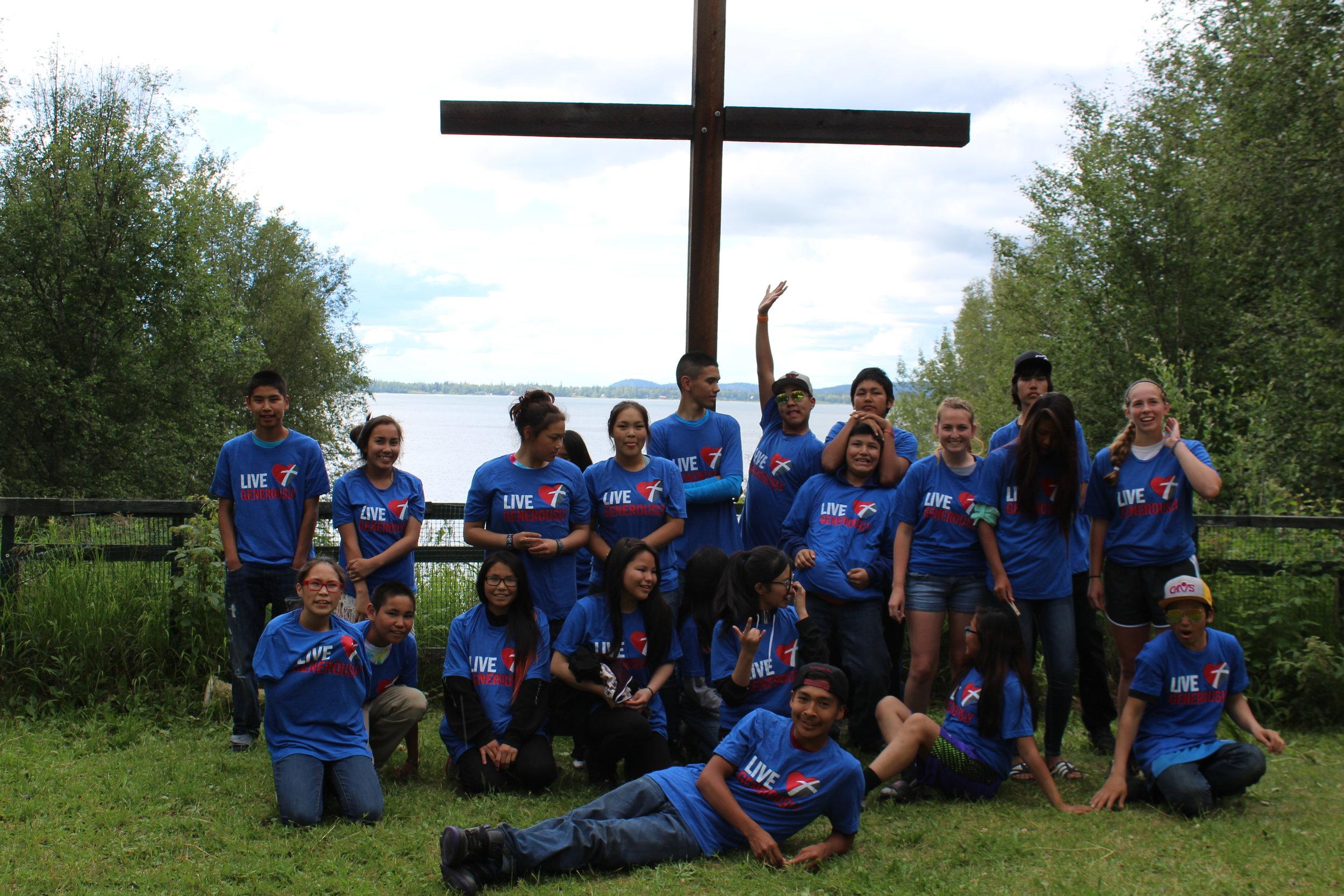 Teen Camp Lutheran Indian Ministries