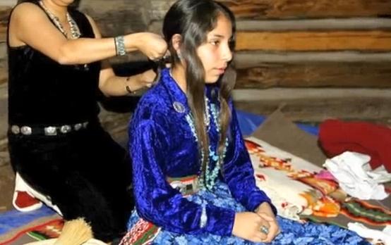 kinaalda navajo rite of passage