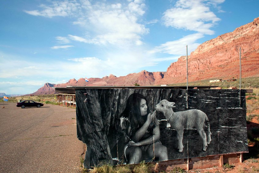 art and medicine on navajo lutheran indian ministries girl and lamb