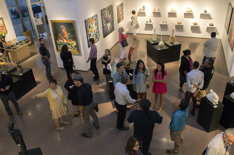 blue rain art gallery named top 25 in america