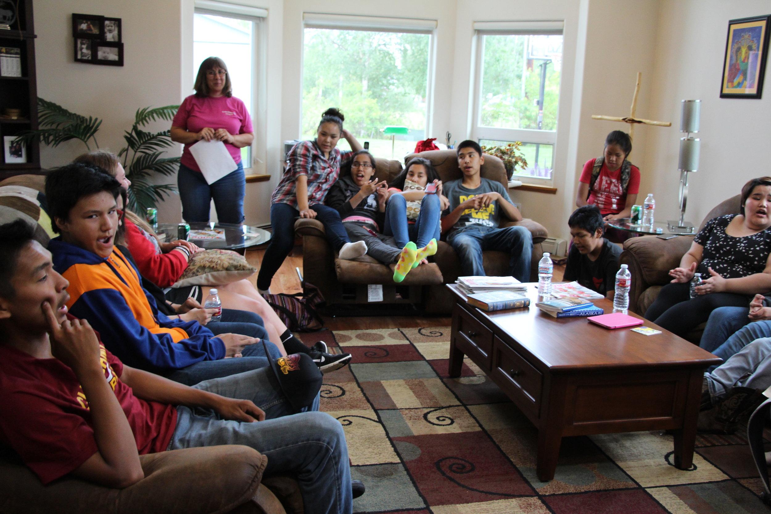 teen camp fairbanks alaska lutheran indian ministries