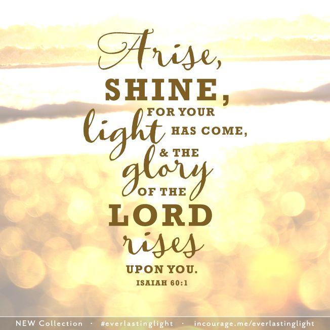 arise, shine isaiah 60:1 lutheran indian ministries