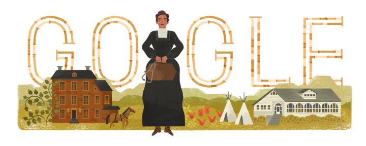 Google Doodle Honors First American Indian to Get a Medical Degree lutheran indian ministries