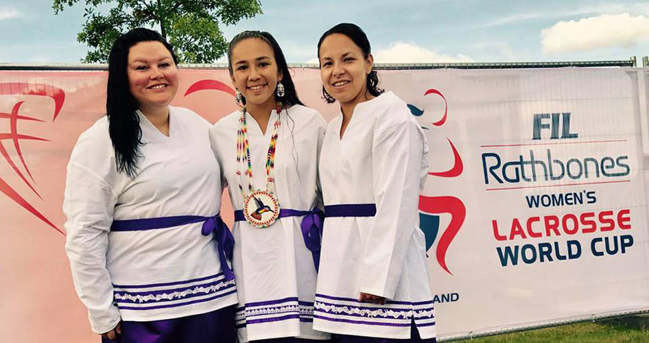 Haudenosaunee Nation women's national lacrosse team lutheran indian ministries