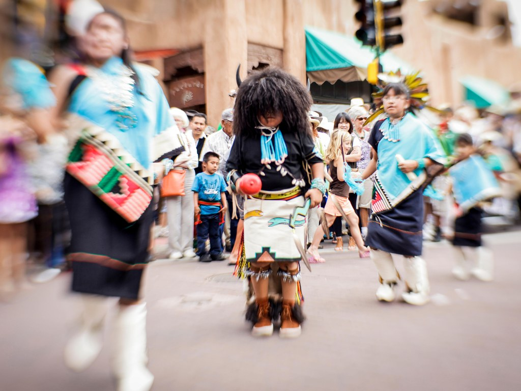 Photo credit: Alamy - Native American art and culture will be on display starting this weekend at the SWAIA Indian Market and the newly opened ZOHI Gallery.