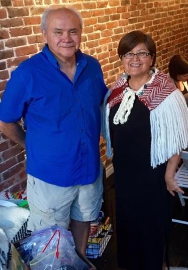 janice george and buddy joseph revive salish weaving lutheran indian ministries native news