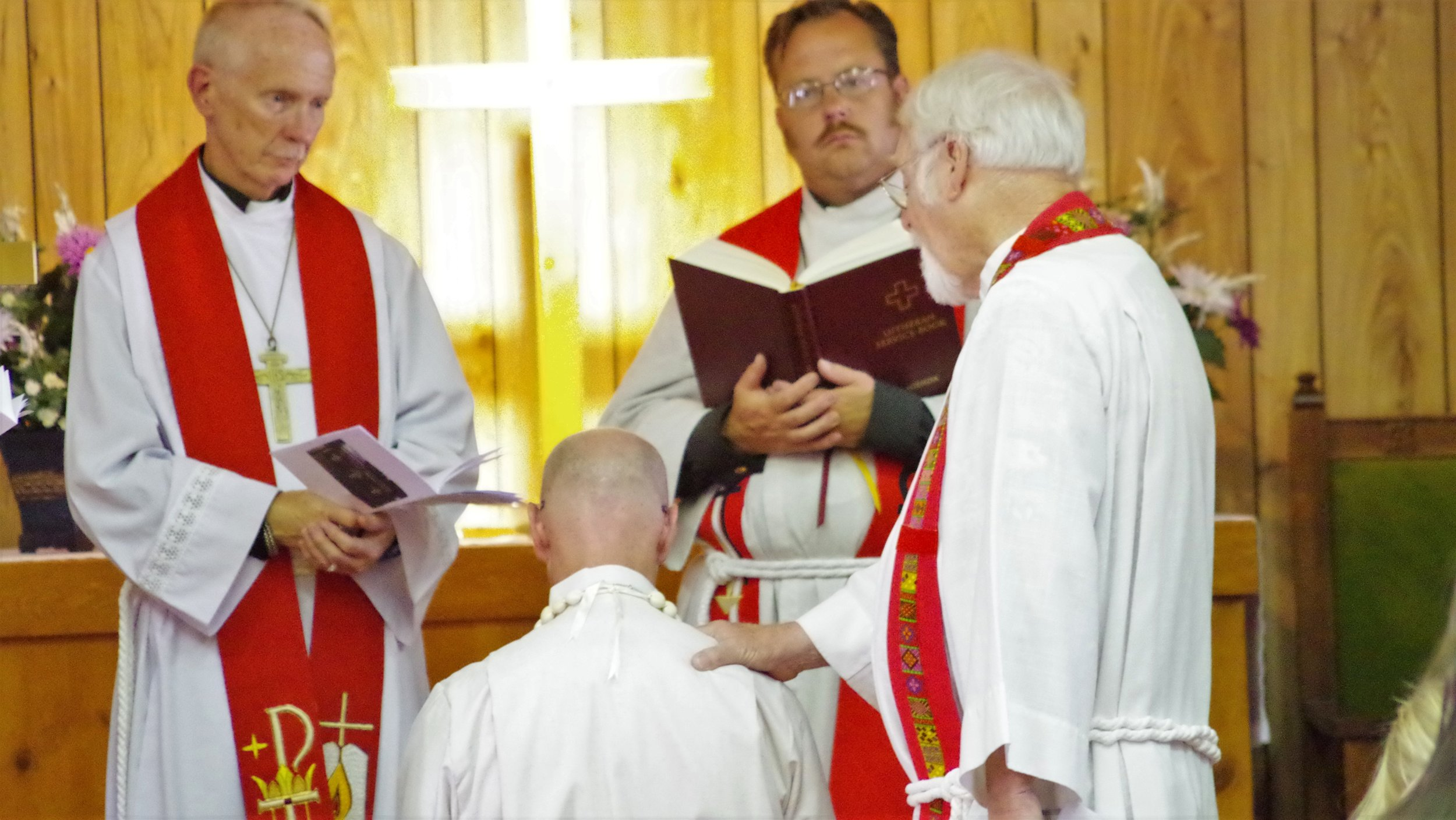 tim norton ordination shepherd of the valley lutheran church navajo new mexico lutheran indian ministries native