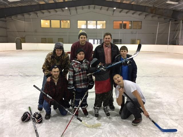 hockey after the tournament muskrat dam canada lutheran indian ministries rick linda martin