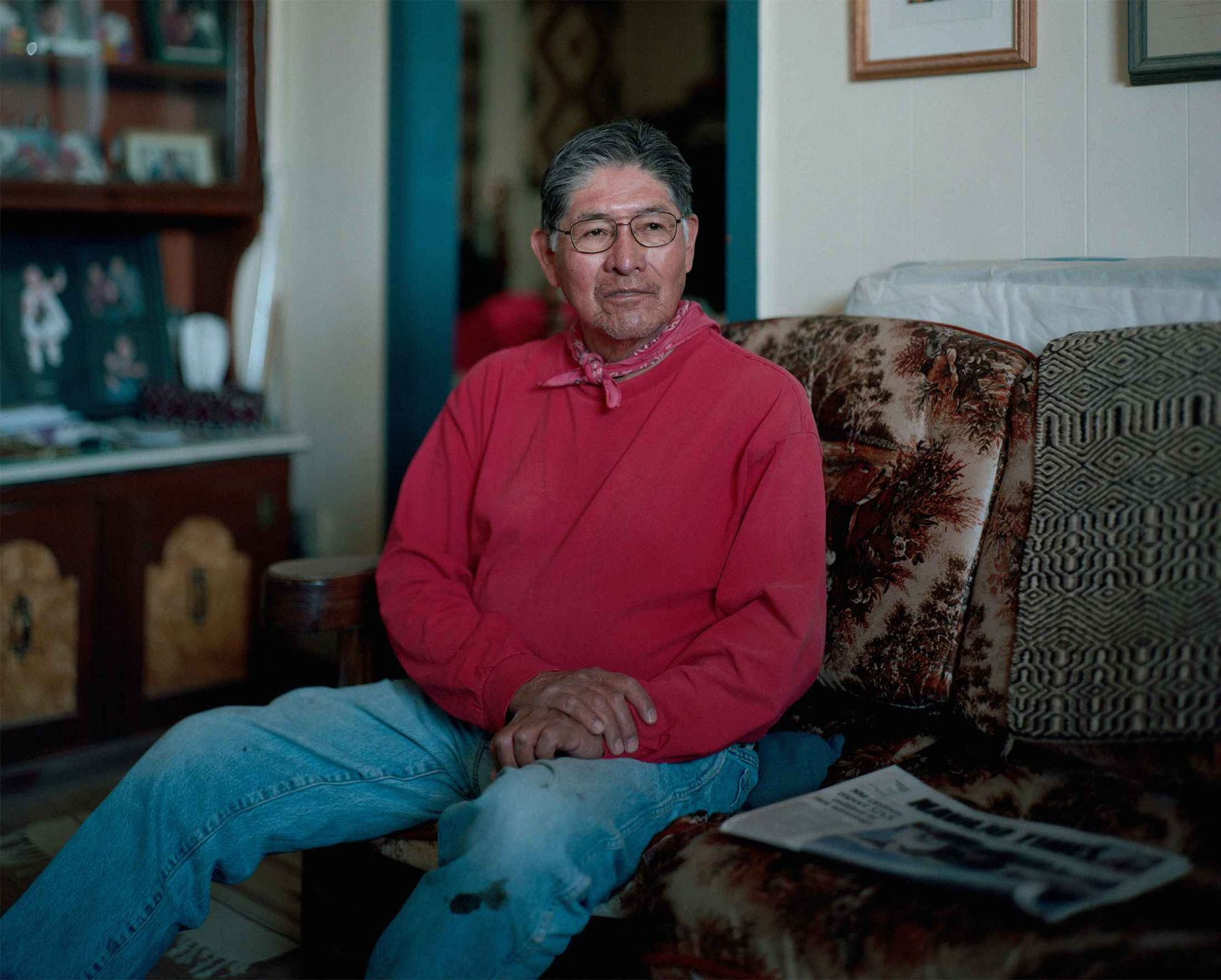 Percy Deal at his home in Cactus Valley. Photographer: Bryan Schutmaat for Bloomberg Businessweek lutheran indian ministries
