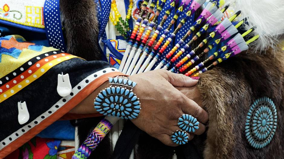 powwow beads and turqoise lutheran indian ministries national native american heritage month news