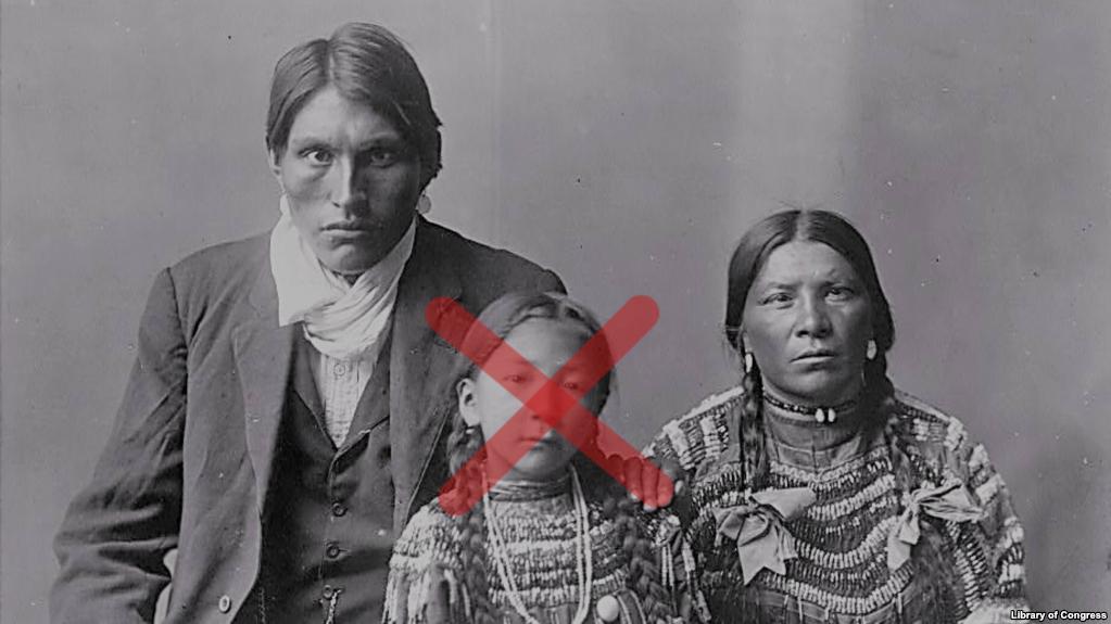 Reuben Black Boy and family, Piegan, ca. 1910. Photo by Edward Curtis.