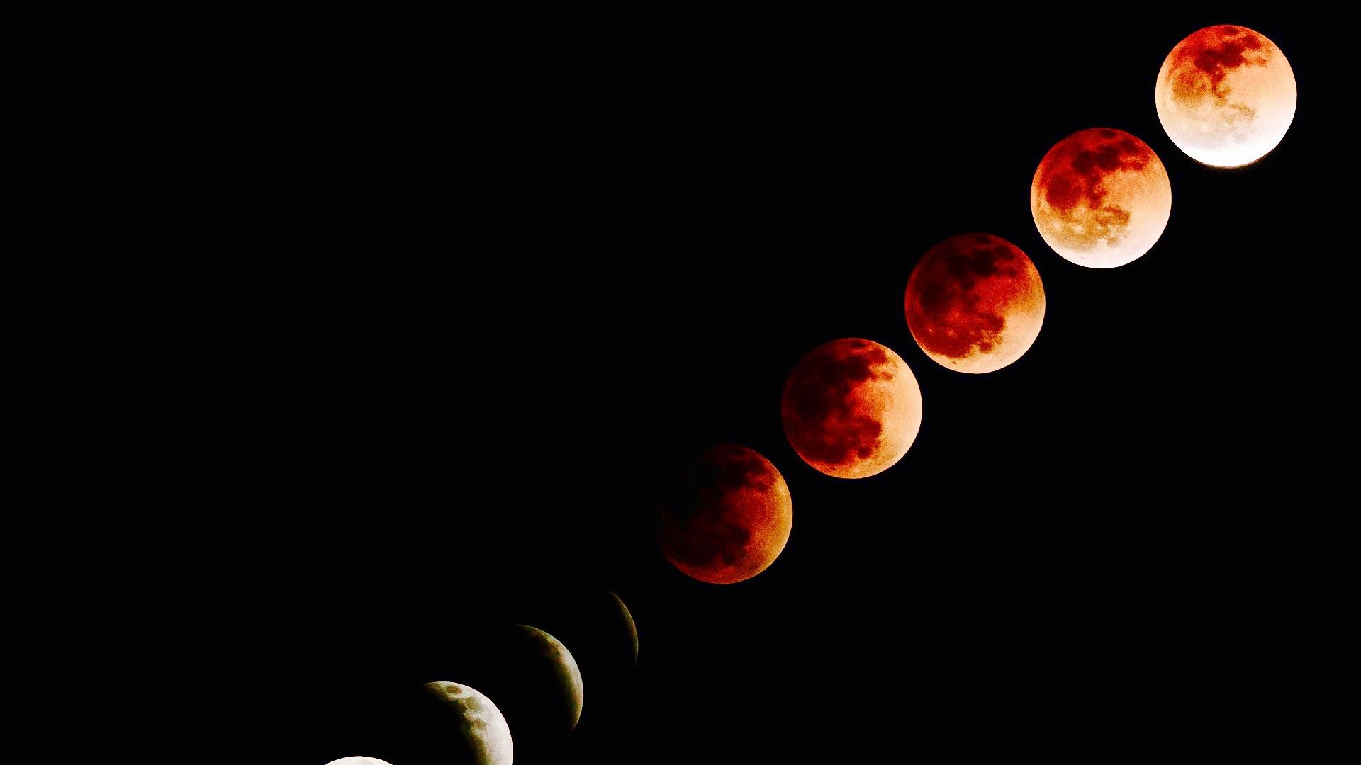 Phases of the blood moon.	(CC via Pixabay) lutheran indian ministries native news