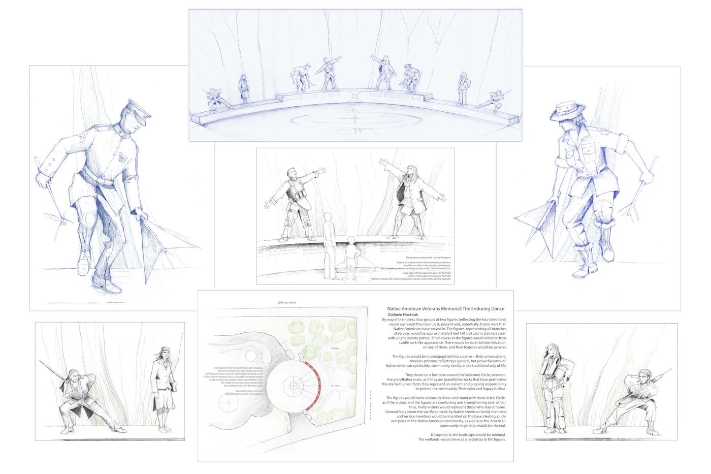 """The Enduring Dance,"" design proposal by Stefanie Rocknak"