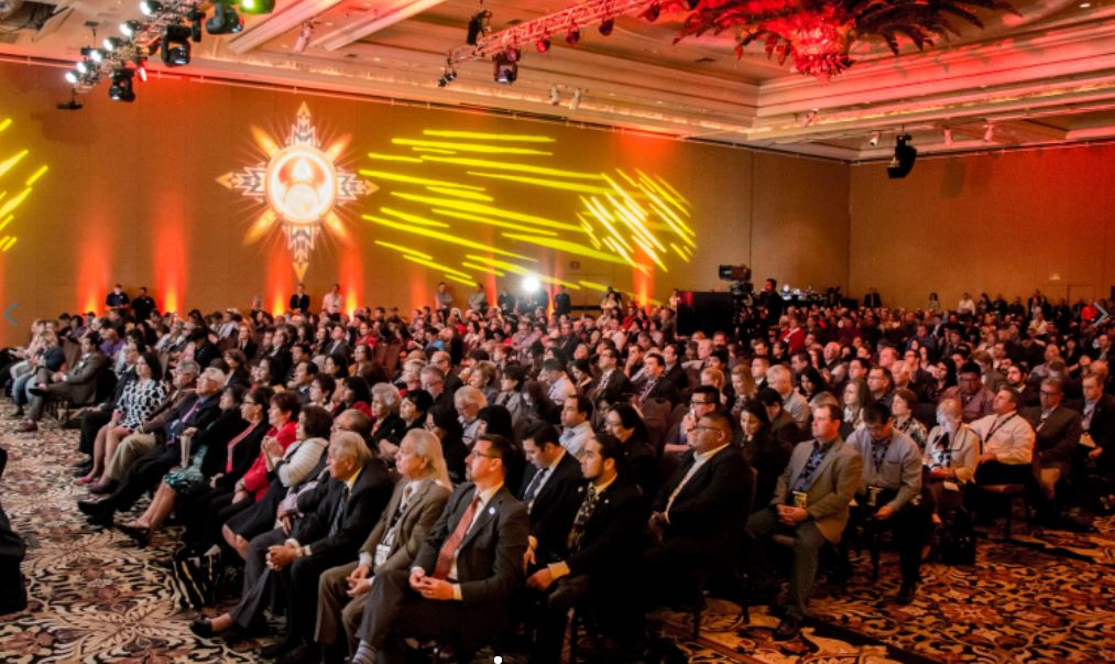The Reservation Economic Summit aka 'RES,' brings together thousands to advance economic development for tribes and Native entrepreneurs. Photo credit: The National Center