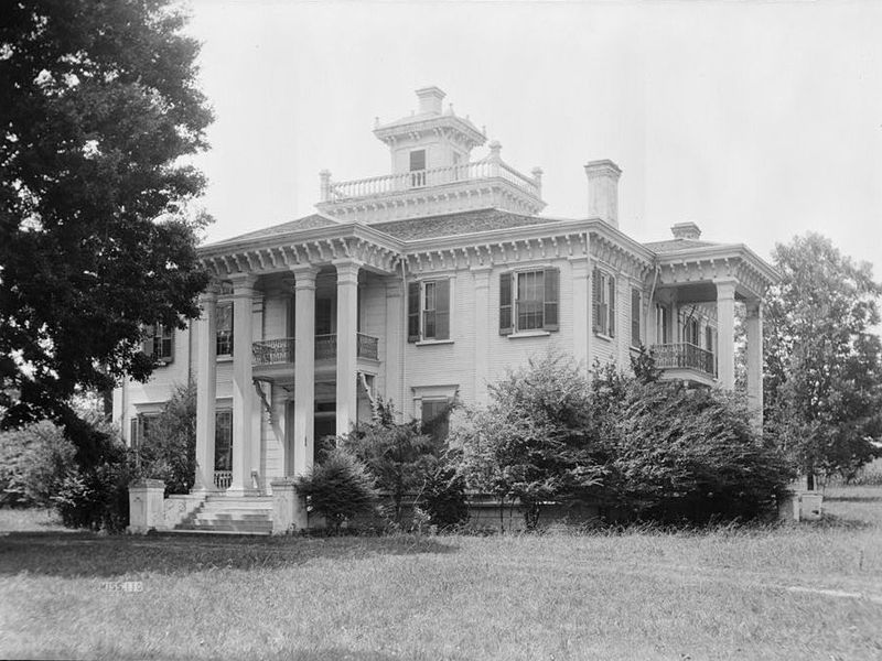 Choctaw chief Greenwood LeFlore had 15,000 acres of Mississippi land (above, his Mississippi home Malmaison) and 400 enslaved Africans under his dominion. (Library of Congress) lutheran indian ministries native news