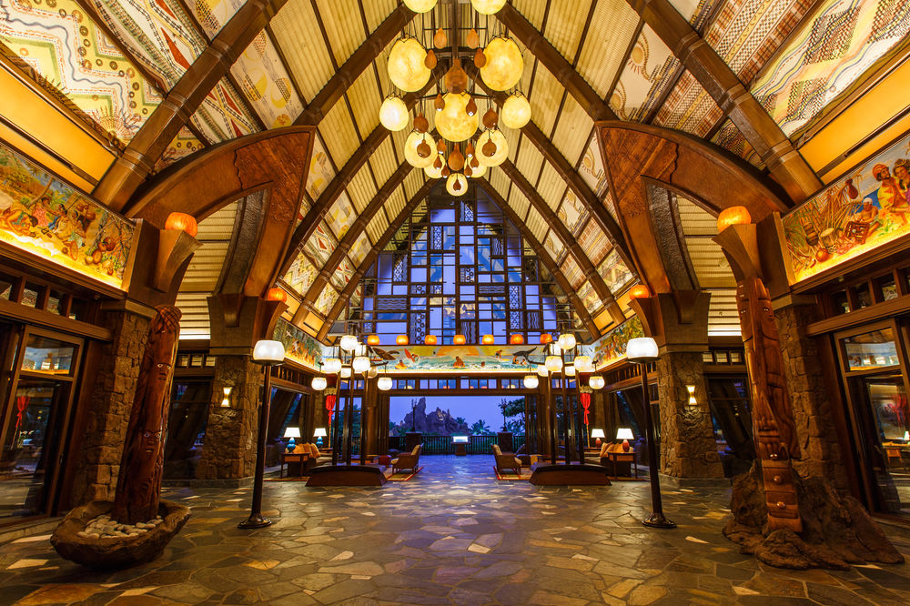 The storytelling begins when you walk into Aulani's open-air lobby and are greeted not just with a flower lei but by a striking 200-foot mural painted by Hawaiian artist Martin Charlot, one of more than 80 local artists whose work is displayed across the resort.