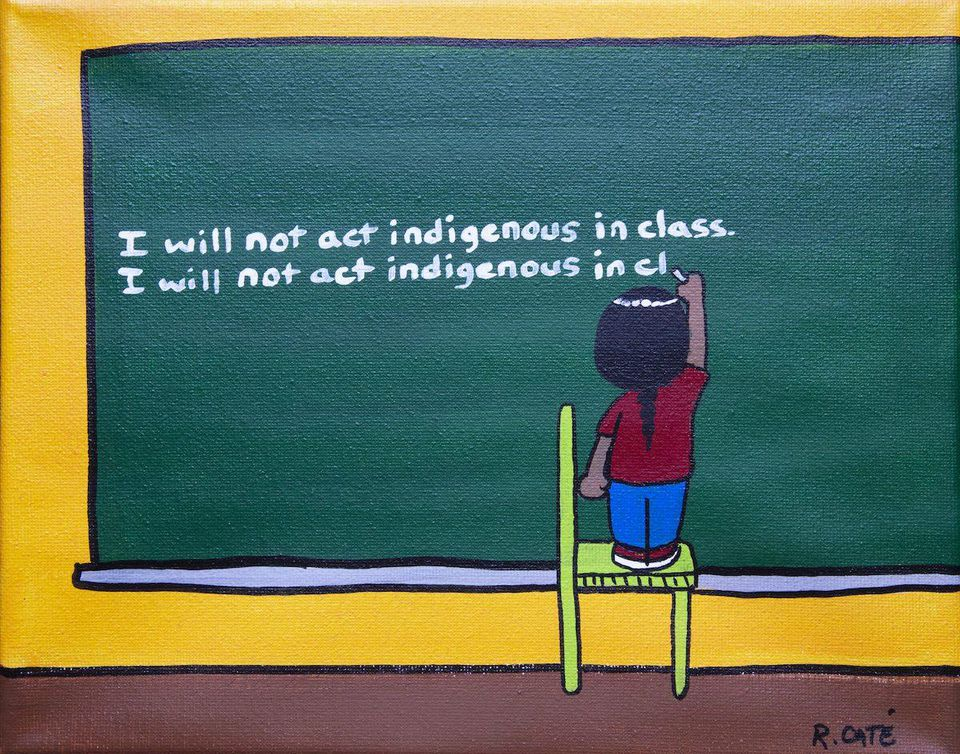"""""""Indigenous"""" by Ricardo Cate lutheran indian ministries native news"""