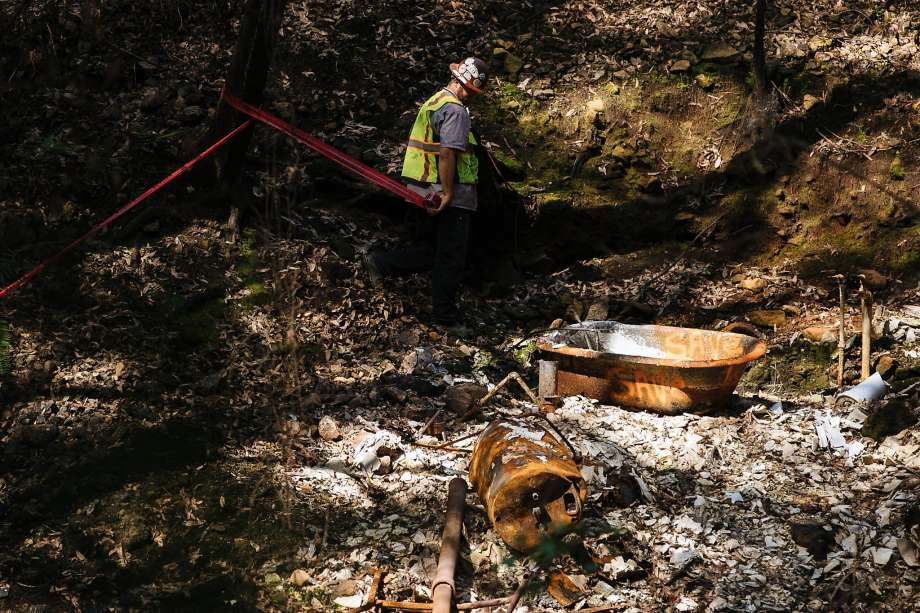 During cleanup of millions of tons of debris after the North Bay fires, long-buried American Indian artifacts were uncovered. Photo: Photos By Mason Trinca / Special To The Chronicle