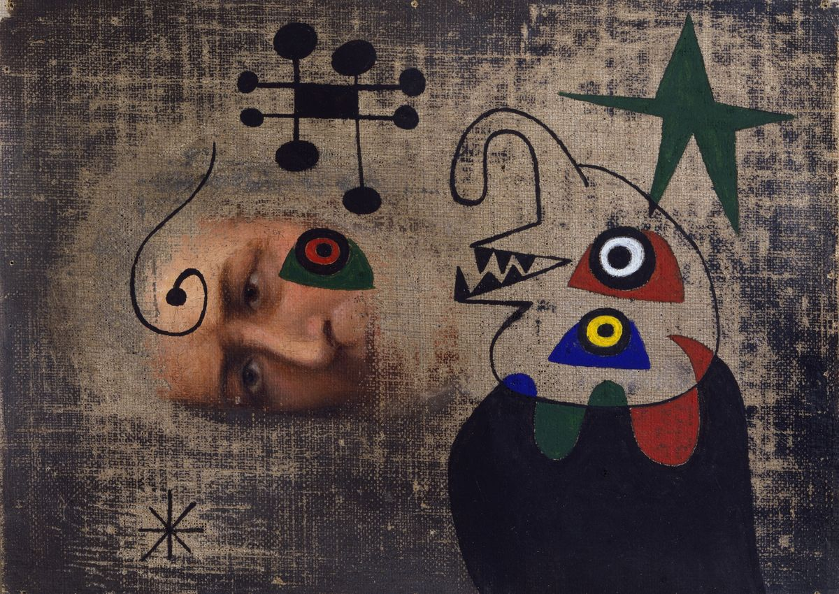 Joan  Miró, Personnage dans la nuit,  1944. ©  2018  Successió  Miró  /  Artists  Rights  Society  (ARS),  New  York  /  ADAGP,  Paris. Courtesy of Di Donna, New York. lutheran indian ministries native news