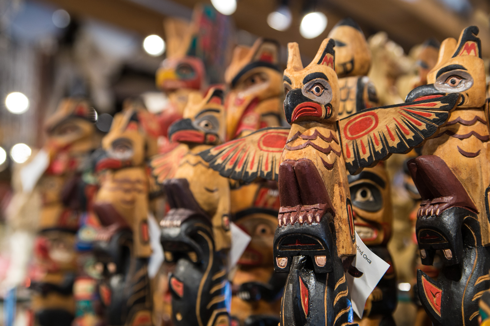 Grizzly's Gifts offers lots of different kinds of souvenirs, from funny t-shirts to some native american replicas. Photo: Grizzly's