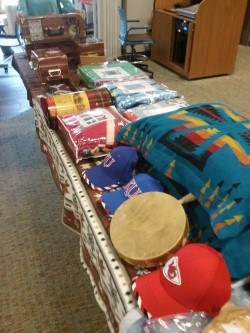 items for auction lutheran indian ministries haskell light