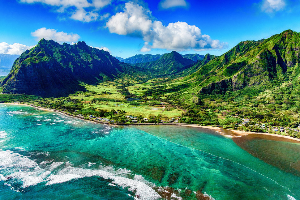 Hawaiian beach. ART WAGER VIA GETTY IMAGES