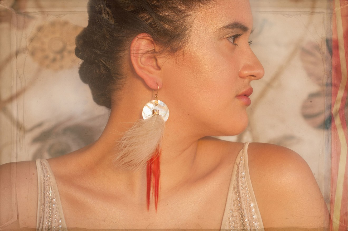 Keri Ataumbi   Label: Ataumbi Metals  Tribe: Kiowa  Based in: Santa Fe, New Mexico