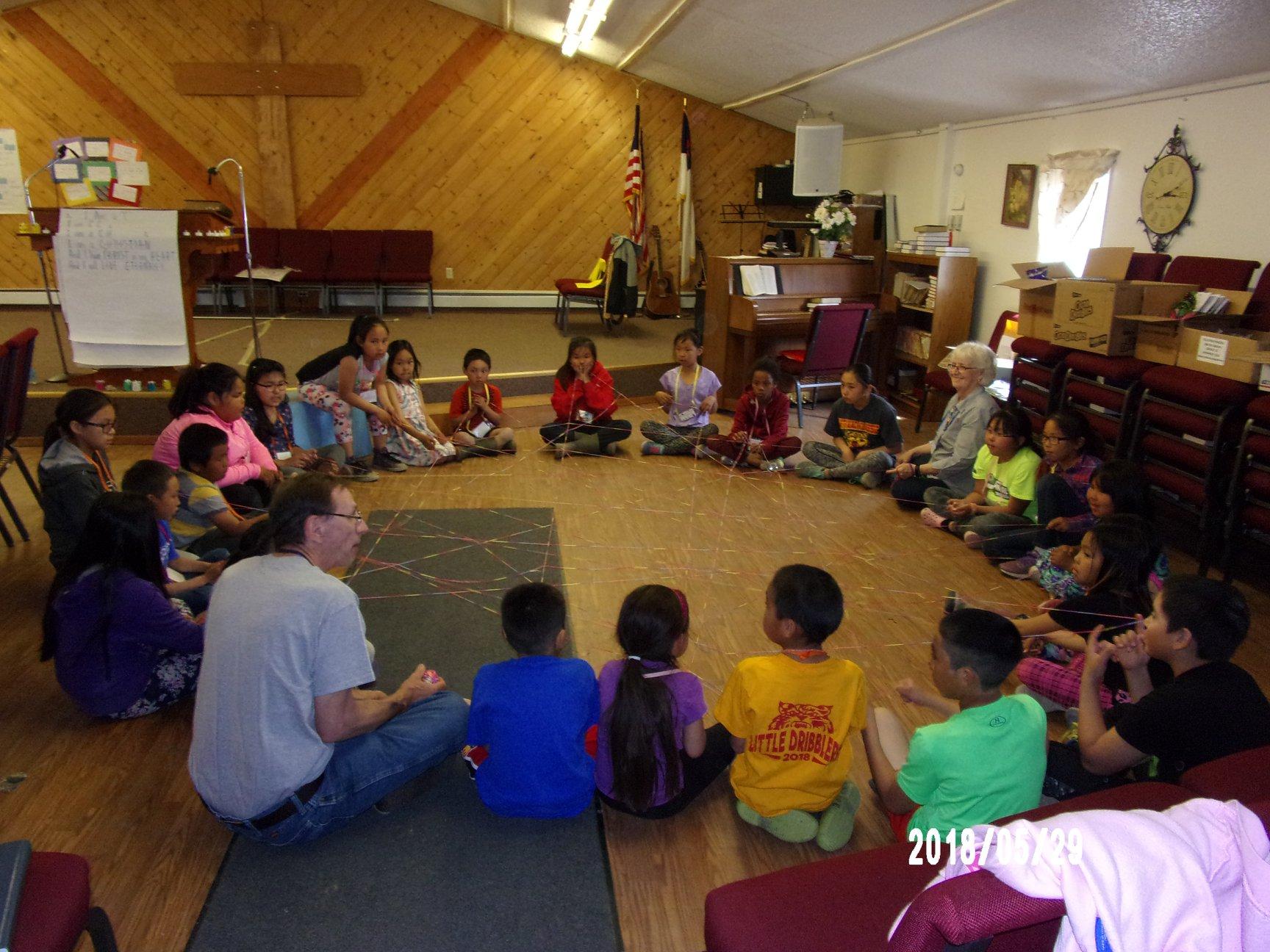 activities kiana vbs alaska lutheran indian ministries native