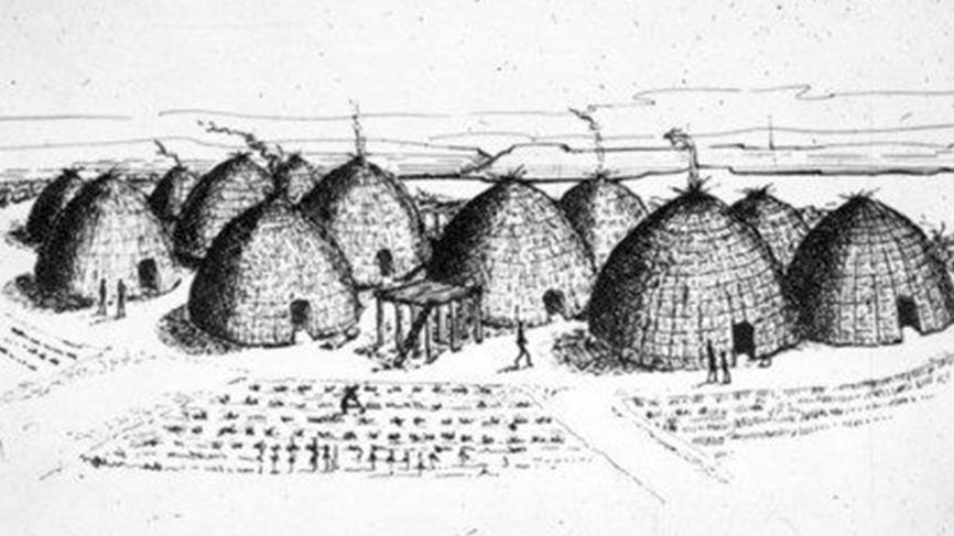 Etzanoa had an estimated population of 20,000 who lived in dwellings similar in shape to beehives