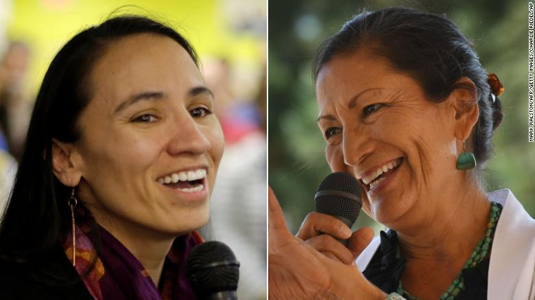 Sharice Davids and Deb Haaland Will Officially Become the First Native American Congresswomen