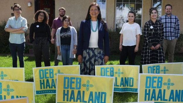 record numbers of natives running for office. (getty images)