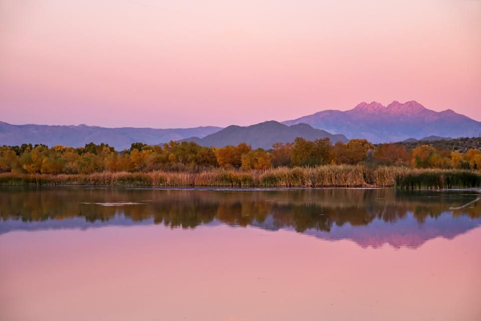 lutheran indian ministries native news Beautiful Winter Sunset along the Salt River within Tonto National Forest, Arizona with Four Peaks Mountains in the distanceGETTY