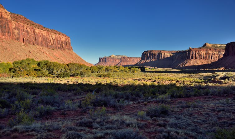 Native American tribes believe Bears Ears is the last of undisturbed sacred lands. Mark Stevens, CC BY-NC-SA