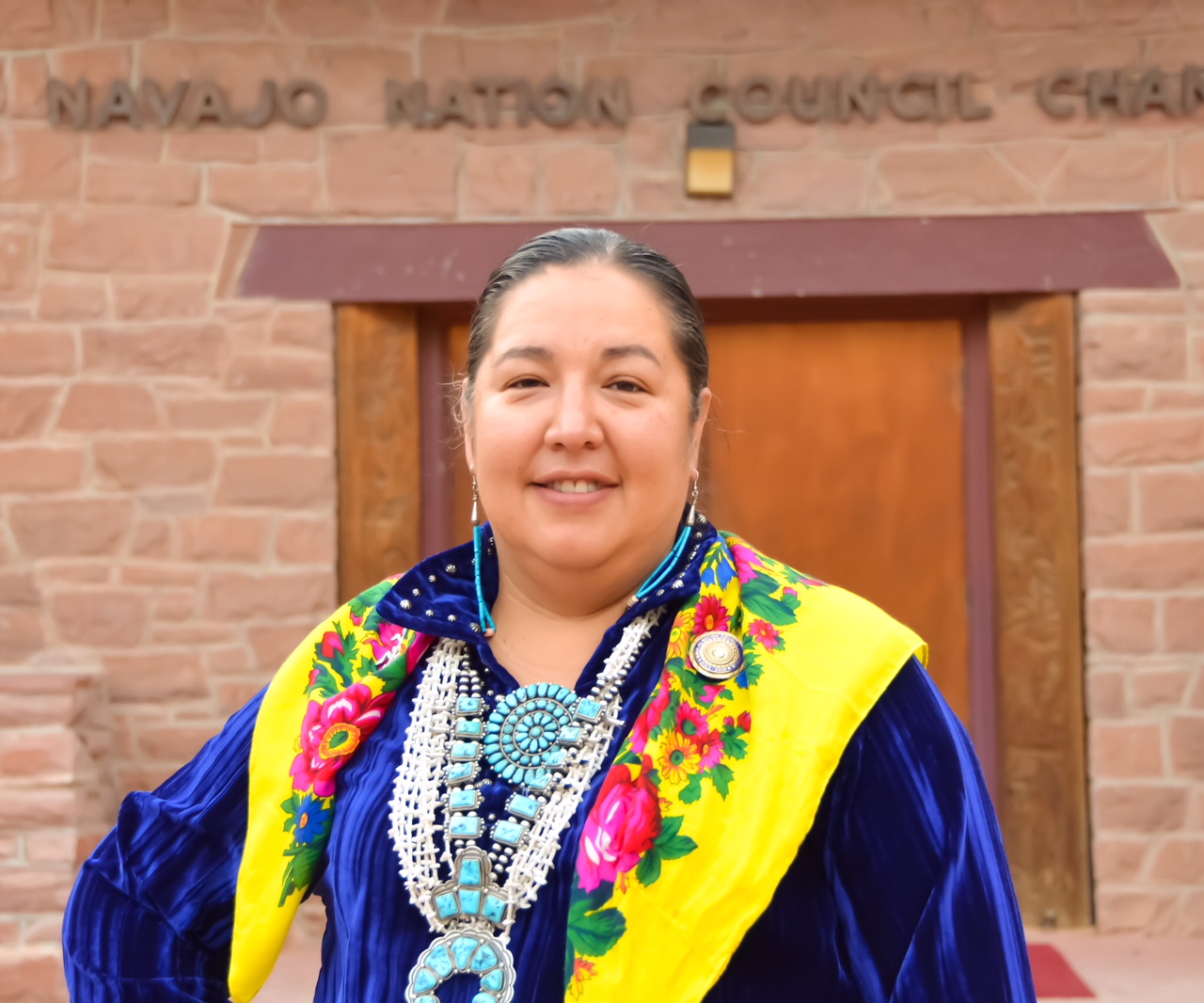 lutheran indian ministries native news - Navajo Nation Council Delegate Amber Kanazbah Crotty