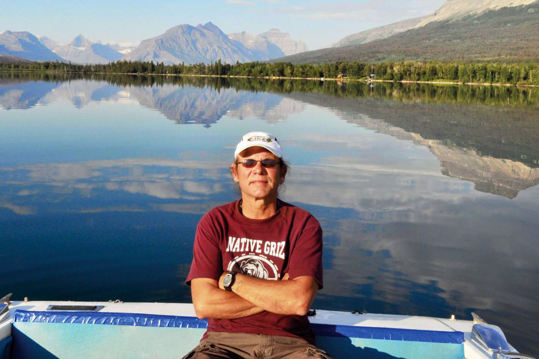 Ed DesRosier's company Sun Tours has been giving Indigenous-centered tours of Glacier National Park for 27 years. He and other tribal members are pushing to establish Blackfeet National Park to the east of Glacier. Courtesy of Ed DesRosier