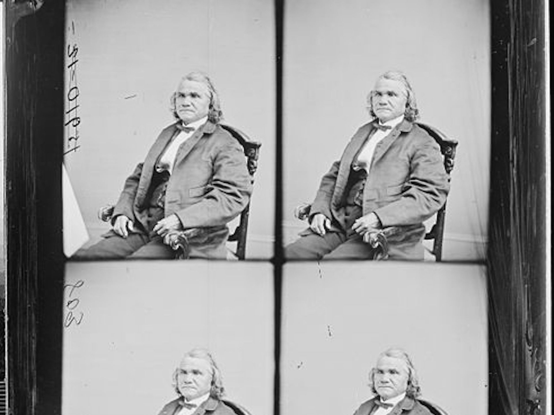 lutheran indian ministries native news - This 1858 photograph shows General Stand Watie, leader of a Native American army which fought for the Confederacy in the Civil War National Archives Catalogue