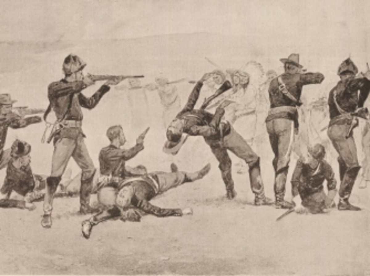 hith-the_opening_of_the_fight_at_wounded_knee_by_frederic_remington_1891-ab.jpglutheran indian ministries native news - US soldiers burying the Native Americans massacred at Wounded Knee in Wounded Knee, South Dakota.