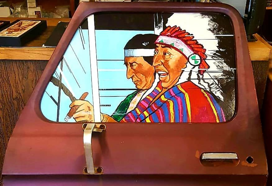 lutheran indian ministries native news - This artist reimagines pop art with a Plains Indian perspective