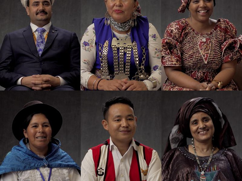 Speakers featured in the Celebrating Indigenous Languages project. (Google Earth)
