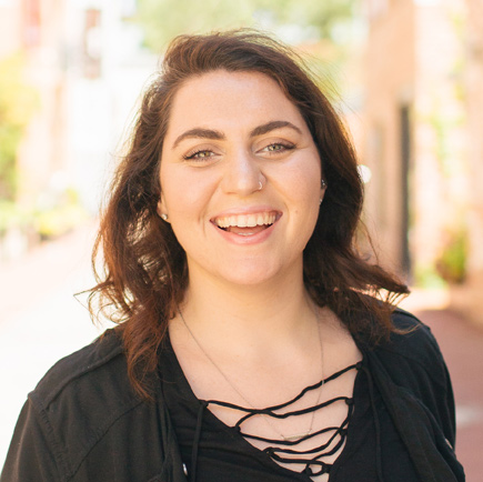 Maddy Bucher   Empress of espresso. Sultan of sandwiches, knows the spots with the best food & the filter to best capture it, loves transforming messaging into visuals & video, probably working from a coffee shop.