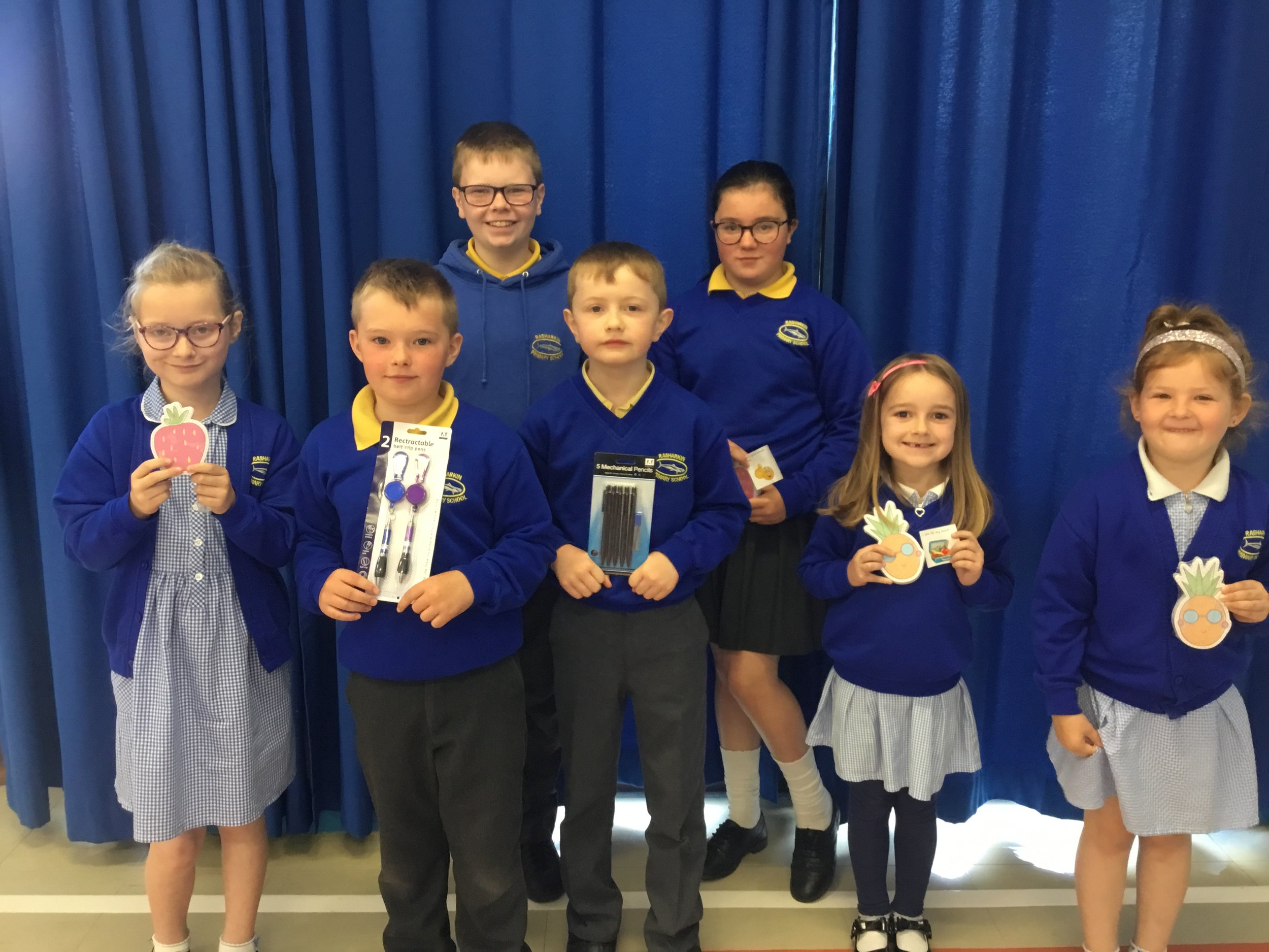 LUNCHTIME AWARD WINNERS